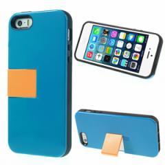 【iPhoneSE ケース】iPhoneSE / iPhone5s  iPhone SE iPhone 5s スタンドハードケース ブルー 電化製品 iPhone5/iPhone 5s Hard Cases