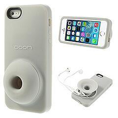 iPhoneSE / iPhone5s  iPhone SE iPhone 5s シリコンケース 収納& スタンド機能付き グレー 電化製品 iPhone5/iPhone5s Cases