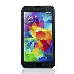Galaxy S5 ギャラクシーS5 手帳型ウィンドウビューフリップライチレザーケース スタンド機能付き ブラック 電化製品