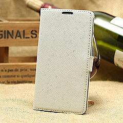Galaxy S5 ギャラクシーS5 手帳型カードレザーケース カードスロット&スタンド機能付き ホワイト 電化製品 Galaxy S5 Leather Cases