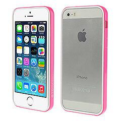 iPhoneSE / iPhone5s  iPhone SE iPhone 5s 軽量ハイブリッドバンパーケース ホワイト ローズ 電化製品 iPhone 5s 5 Bumper Cases