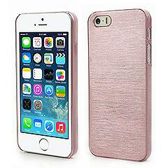 iPhoneSE / iPhone5s  iPhone SE iPhone 5s 超薄軽量光沢ハードケース ピンク 電化製品 iPhone 5s 5 Hard Cases