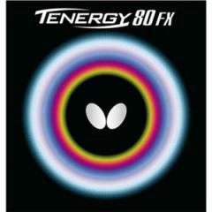 バタフライ テナジー・80・FX 卓球ラバー [カラー:レッド] [サイズ:特厚] #05940 BUTTERFLY 送料無料 スポーツ・アウトドア