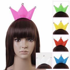 コスプレ カチューシャ 6色展開 LED 王冠  ハロウィン 衣装 acc1572