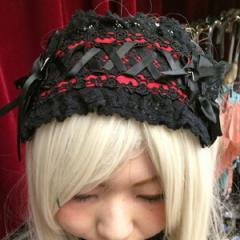 【ゴスロリ ロリィタ ヘッドドレス】コスプレ  コスプレ衣装 セクシー 制服 ハロウィン