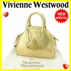 ヴィヴィアン・ウエストウッド Vivienne Westwood ハンドバッグ レディース チャンセリー 美品 セール【中古】 Y3739