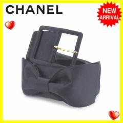 シャネル CHANEL ベルト レディース リボン [中古] 人気 セール J11518