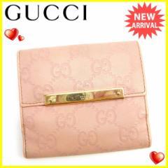 グッチ Gucci Wホック財布 レディース グッチシマ [中古] 人気 セール J15300