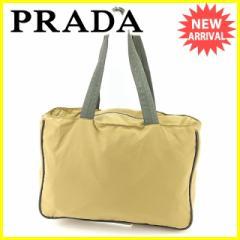 プラダ PRADA トートバッグ ショルダーバッグ レディース メンズ 可 4VA062 [中古] 人気 良品 J16550