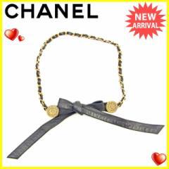 シャネル CHANEL ベルト レディース チェーン [中古] ヴィンテージ 人気 J16625