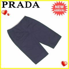 プラダ PRADA パンツ レディース ♯38サイズ ハーフ丈 [中古] 人気 セール L1307