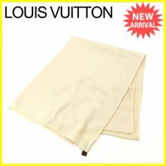 ルイヴィトン Louis Vuitton ストール レディース モノグラムフラワー 人気 セール【中古】 Y4936