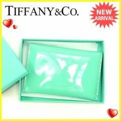 ティファニー Tiffany&Co. 名刺入れ カードケース レディース  [未使用] 未使用 セール J13058
