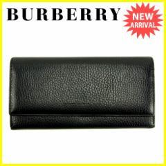 バーバリー BURBERRY 長財布 ファスナー付き長財布 レディース ノバチェック [中古] 美品 セール J13067