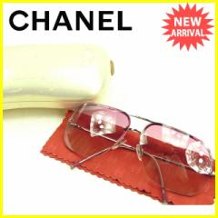 シャネル CHANEL サングラス レディース ココマーク [中古] 人気 セール J14127
