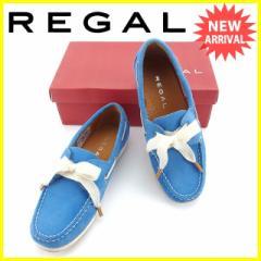 リーガル REGAL シューズ 靴 レディース ♯22ハーフ デッキシューズ [中古] 美品 セール J14904