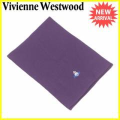 ヴィヴィアン ウエストウッド Vivienne Westwood マフラー レディース メンズ 可 オーブ刺繍 良品 セール【中古】 T2208