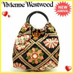 ヴィヴィアン ウエストウッド Vivienne Westwood ハンドバッグ レディース キルティング 人気 セール【中古】 Y5988