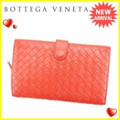 ボッテガ ヴェネタ BOTTEGA VENETA 長財布 ラウンドファスナー レディース 114074 イントレチャート [中古] 人気 セール J15607
