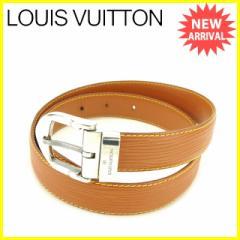 ルイ ヴィトン Louis Vuitton ベルト レディース メンズ 可 サンチュールクラシック R15008 エピ [中古] 美品 セール J19811