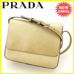 プラダ PRADA ショルダーバッグ 斜めがけショルダー レディース B7161 ロゴ [中古] 人気 セール J10876