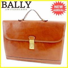 バリー BALLY ビジネスバッグ ブリーフケース メンズ ロゴプレート [中古] 人気 セール J20850