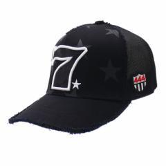 (2018新作)ヨシノリコタケ YOSHINORI KOTAKE PU CAMO 7LOGO STAR MESH CAP キャップ BLACK 【新品】 251001286011 (ヘッドウェア)