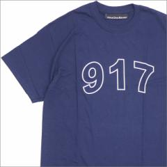 (新品)【期間限定特別価格!!】 917(ナインワンセブン) 917 Block Tee (Tシャツ) NAVY 200-007719-137+【新品】(半袖Tシャツ)