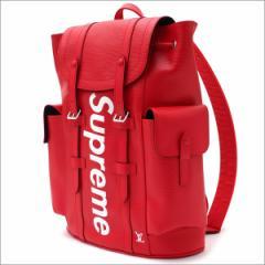 (新品)SUPREME(シュプリーム) x LOUIS VUITTON Christpher Backpack PM RED 276-000272-013+【新品】(グッズ)