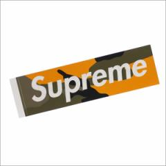 (新品)SUPREME(シュプリーム) Brooklyn Camo Box Logo Sticker (ステッカー) YELLOW CAMO 290-004546-118+【新品】(グッズ)