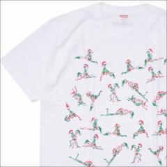 (新品)SUPREME(シュプリーム) Christmas Tee (Tシャツ) WHITE 200-007690-140+【新品】(半袖Tシャツ)