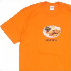 (2018新作・新品)SUPREME(シュプリーム) Chicken Dinner Tee (Tシャツ) ORANGE 200-007762-158+【新品】(半袖Tシャツ)