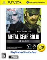 METAL GEAR SOLID HD EDITION PlayStation Vita the Best 【PS Vita】【ソフト】【新品】 VLJM-65001
