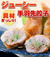 手羽先餃子 (5本パック) 鮮度、味、産地、全てにこだわり    訳あり/お惣菜/お弁当/業務用/お試し/話題/SALE