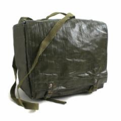 5000円以上送料無料 チェコ軍放出 防水布PVCコンバットショルダーバッグ未使用デットストック ホビー・エトセトラ ミリタリー ポーチ・バ