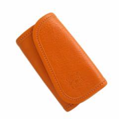 レビューで次回2000円オフ 直送 イルビゾンテ ILBISONTE キーケース メンズ レディース C0251P-166 オレンジ
