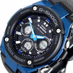 レビューで次回2000円オフ 直送 カシオ CASIO Gショック G-SHOCK タフソーラー 腕時計 メンズ GST-S300G-1A2 クォーツ ブラック