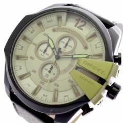 レビューで次回2000円オフ 直送 ディーゼル DIESEL 腕時計 メンズ DZ4495 クォーツ グリーン ブラック