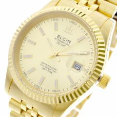 レビューで次回2000円オフ 直送 エルジン ELGIN 腕時計 メンズ FK1422G-G クォーツ ゴールド
