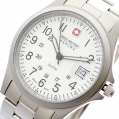 レビューで次回2000円オフ 直送 スイスミリタリー SWISS MILITARY 腕時計 メンズ レディース ML-18 クォーツ ホワイト シルバー