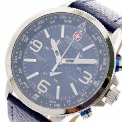 レビューで次回2000円オフ 直送 スイスミリタリー SWISS MILITARY 腕時計 メンズ ML-399 クォーツ ネイビー
