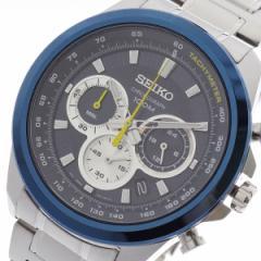 レビューで次回2000円オフ 直送 セイコー SEIKO 腕時計 メンズ SSB251P1 クォーツ ネイビー シルバー