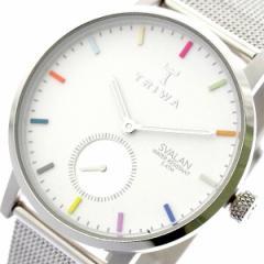 レビューで次回2000円オフ 直送 トリワ TRIWA 腕時計 レディース SVST107-MS121212 クォーツ ホワイト シルバー