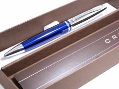返品可 レビューで次回2000円オフ 直送 クロス CROSS カレイ ボールペン AT0112-3 ブルー