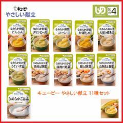 キユーピー 介護食 区分4 やさしい献立 11種セット ( 区分4 かまなくて良い) 介護用品