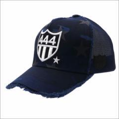 (新品)YOSHINORI KOTAKE(ヨシノリコタケ) 444 STAR CAMO MESH CAP NAVY CAMO 251-001194-017x【新品】(ヘッドウェア)