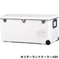 ホリデーランドクーラー NEWモデル 伸和 大型 48HW ホワイト (クーラーボックス)