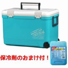 ホリデーランドクーラー NEWモデル 伸和 小型 33HBL ブルー 保冷剤セット (クーラーボックス)
