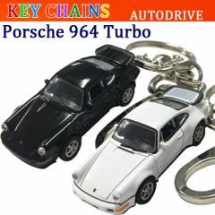 AUTODRIVE オートドライブ KEY CHAINS キーチェーン PORSCHE 964Turbo ポルシェ964ターボ オフィシャルライセンスキーホルダー