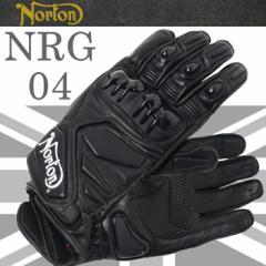 【送料無料】NORTON ノートン グローブ NRG04 ホワイトロゴ オールシーズン バイク用ツーリンググローブ